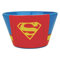 Set of 2 Ceramic Bowls - Batman & Superman Costume Thumbnail 3