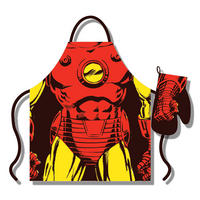 Iron Man Apron & Oven Glove Set