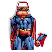 Superman Apron & Oven Glove Set Thumbnail 1