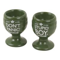 Dad's Army Set of 2 Grenade Egg Cups Thumbnail 1