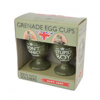 Dad's Army Set of 2 Grenade Egg Cups Thumbnail 2