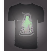 Doctor Who Glow in the Dark Dalek T-shirt Thumbnail 2