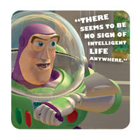 Buzz Lightyear No Sign Of Intelligent Life Single Coaster Thumbnail 1