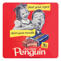 Penguin Biscuits Single Coaster