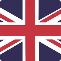 Union Jack Flag Single Coaster Thumbnail 1