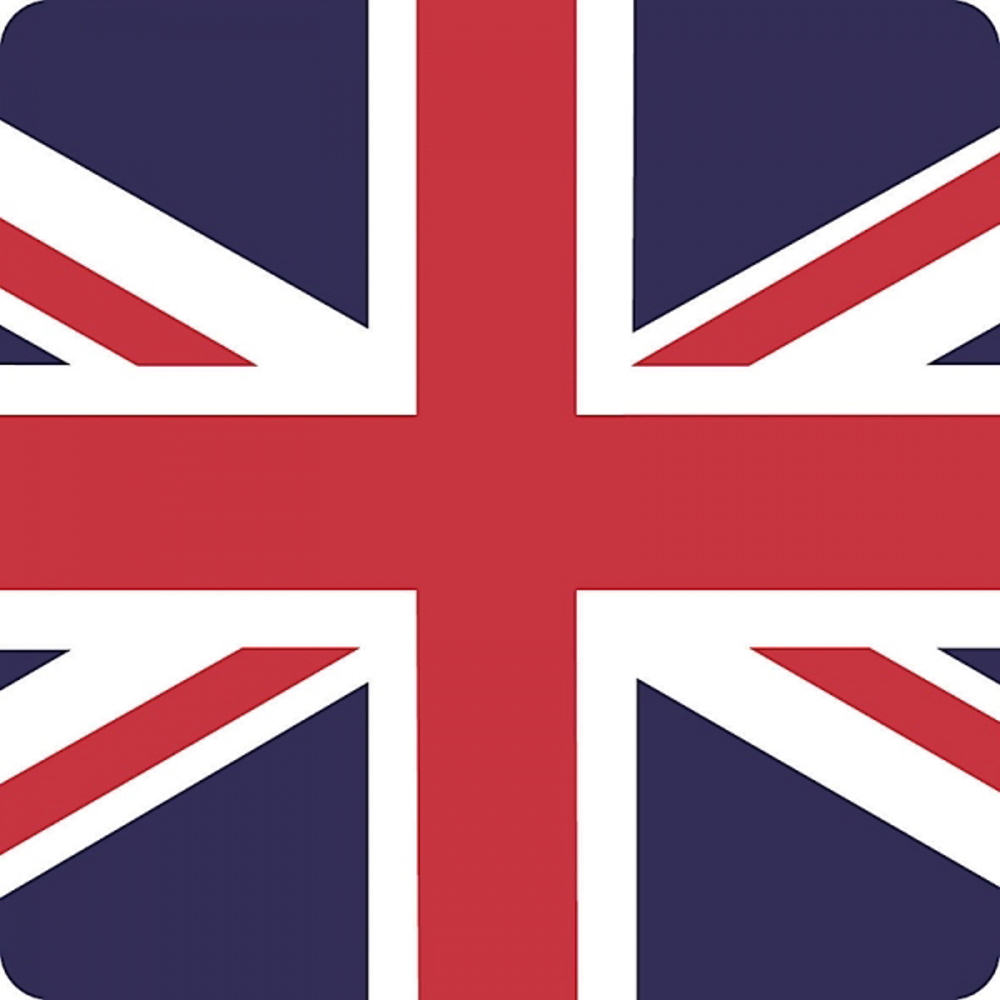 Union Jack Flag Single Coaster