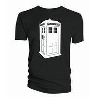 Doctor Who Glow in the Dark TARDIS T-shirt Thumbnail 1