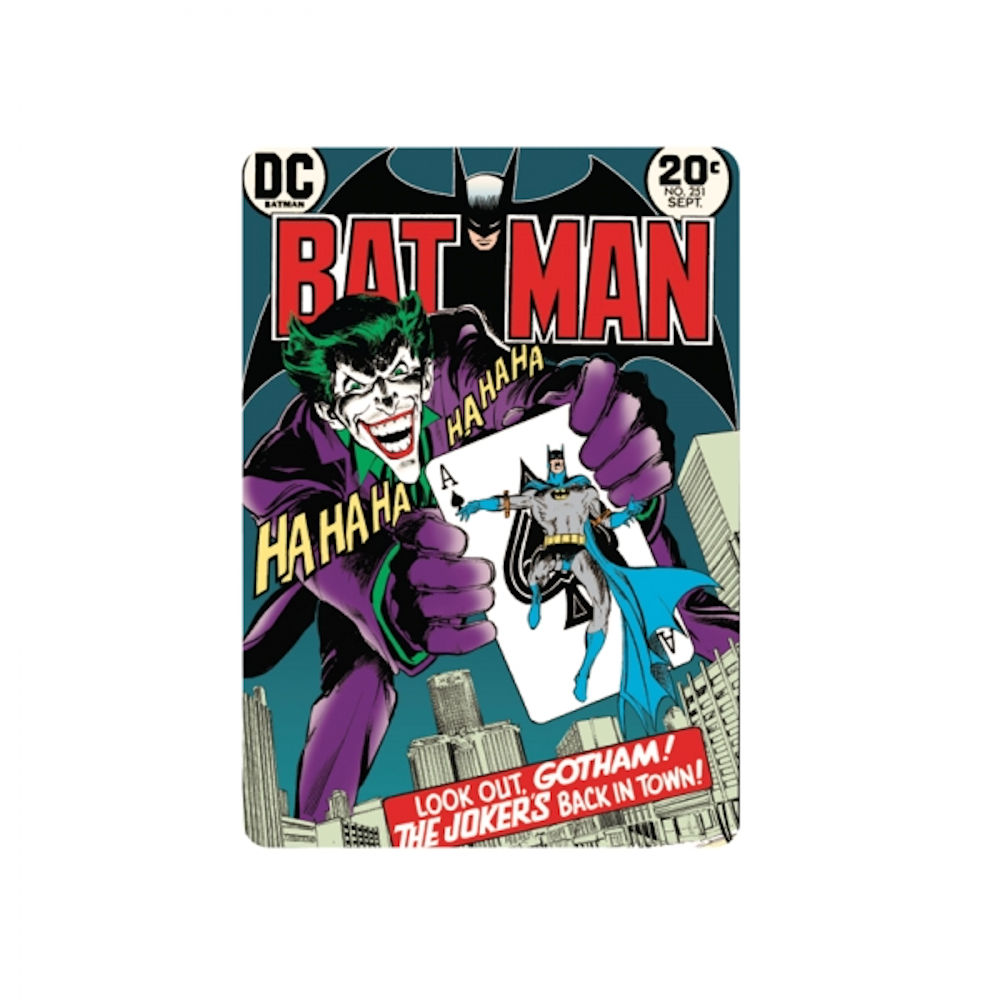 The Joker's Back In Town Fridge Magnet