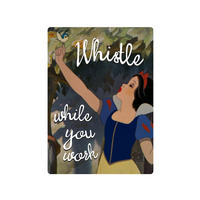 "Snow White ""Whistle While You Work"" Fridge Magnet"