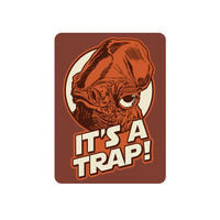 "Star Wars Admiral Ackbar ""It's A Trap!"" Fridge Magnet"