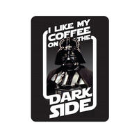"Darth Vader ""I Like My Coffee On The Dark Side"" Fridge Magnet"
