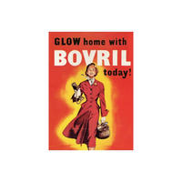 Glow Home With Bovril Today Fridge Magnet