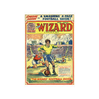 The Wizard Football Guide Fridge Magnet