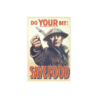 Do Your Bit Save Food Fridge Magnet
