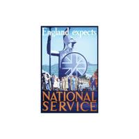 England Expects National Service Fridge Magnet