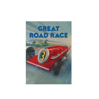 Great Road Race Fridge Magnet
