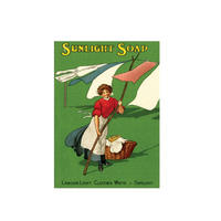 "Sunlight Soap ""Labour Light Clothes White"" Fridge Magnet"