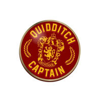 Harry Potter Quidditch Captain Pin Badge Thumbnail 1