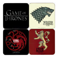 Game of Thrones Coaster Set (4 Coasters) Thumbnail 1