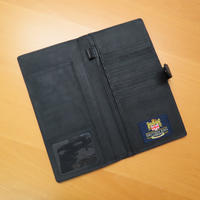 Travel Documents Holder with Harris Tweed Black & Grey Tartan Thumbnail 2