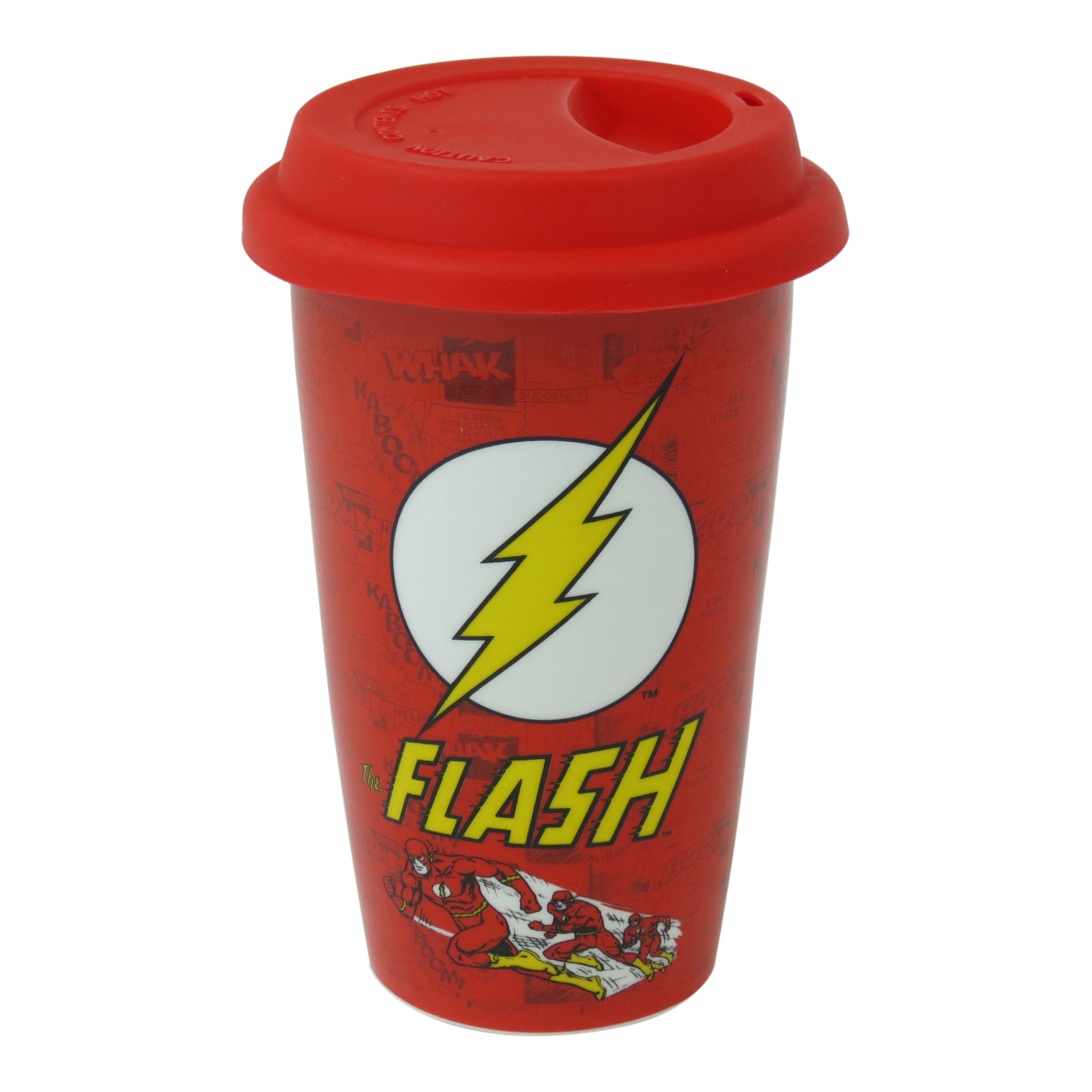 The Flash Logo Ceramic Travel Mug