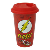 The Flash Logo Ceramic Travel Mug Thumbnail 1