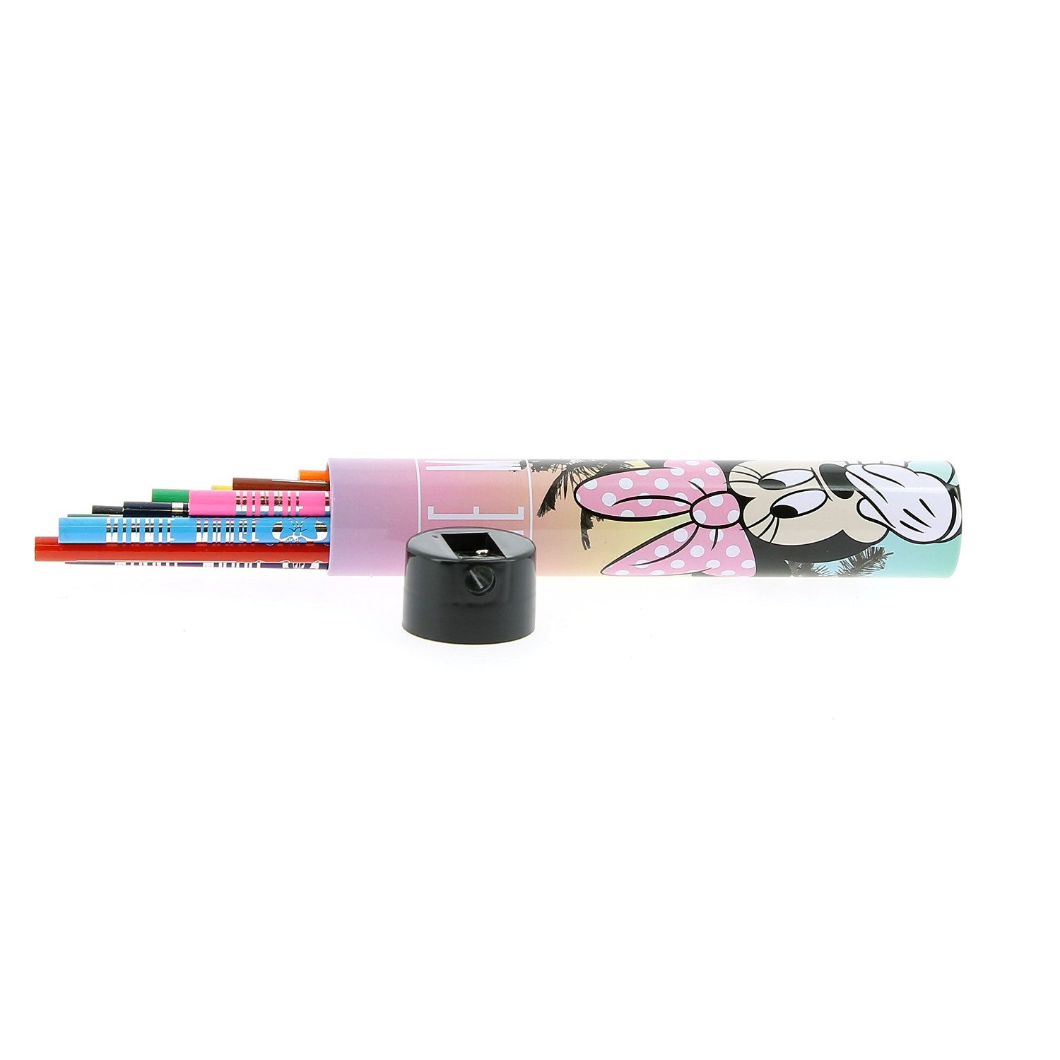 Miami Minnie Mouse Colouring Pencil Set