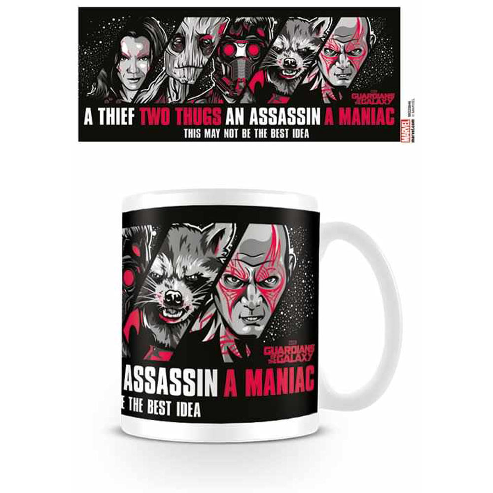 Guardians Of The Galaxy Guardians Mug