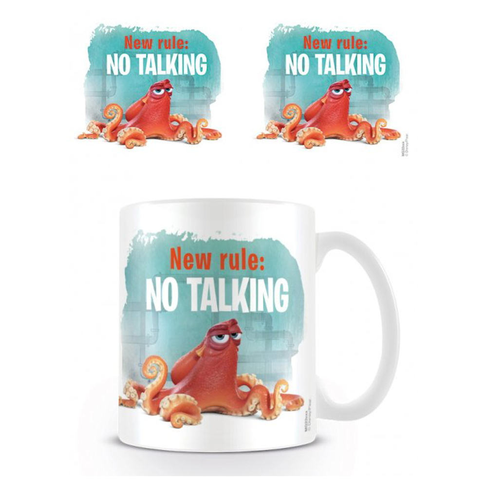 Finding Dory New Rule No Talking Mug