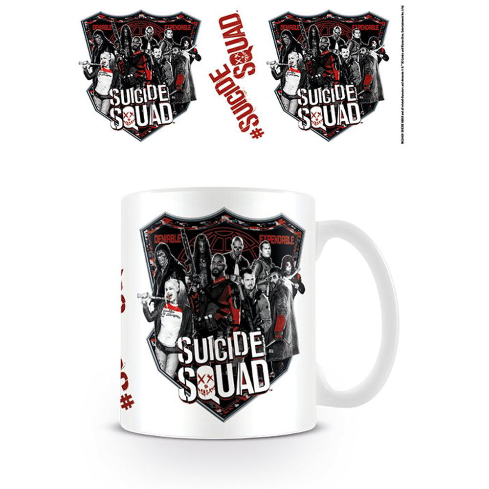 Suicide Squad Deniable Expendable Mug