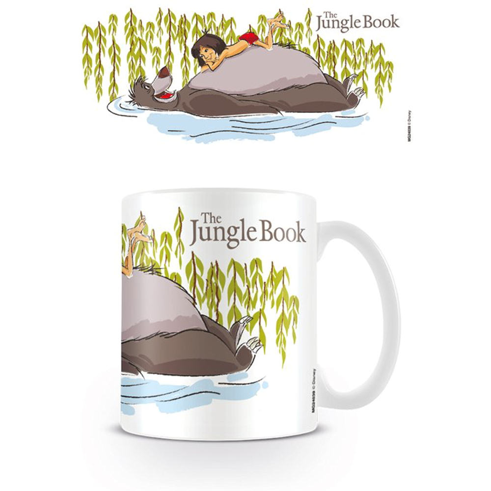 The Jungle Book Balloo & Mowgli Floating Mug