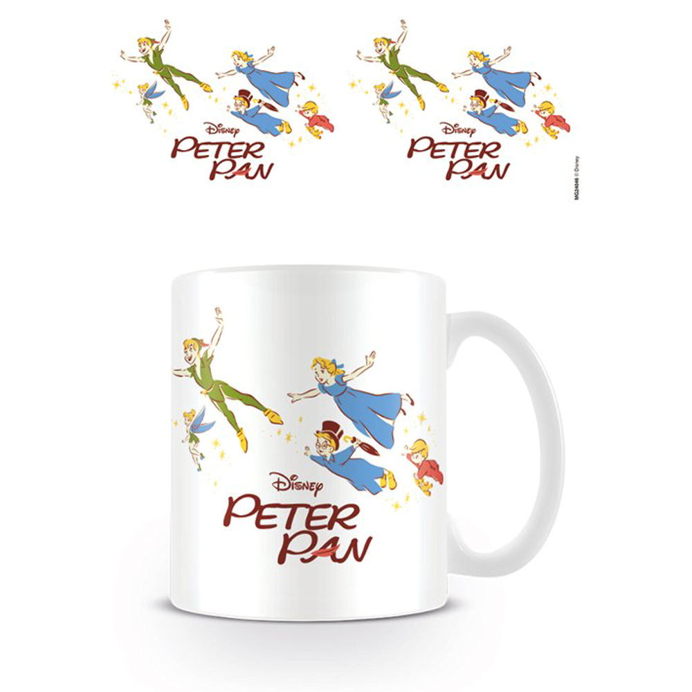 Peter Pan Flying Mug