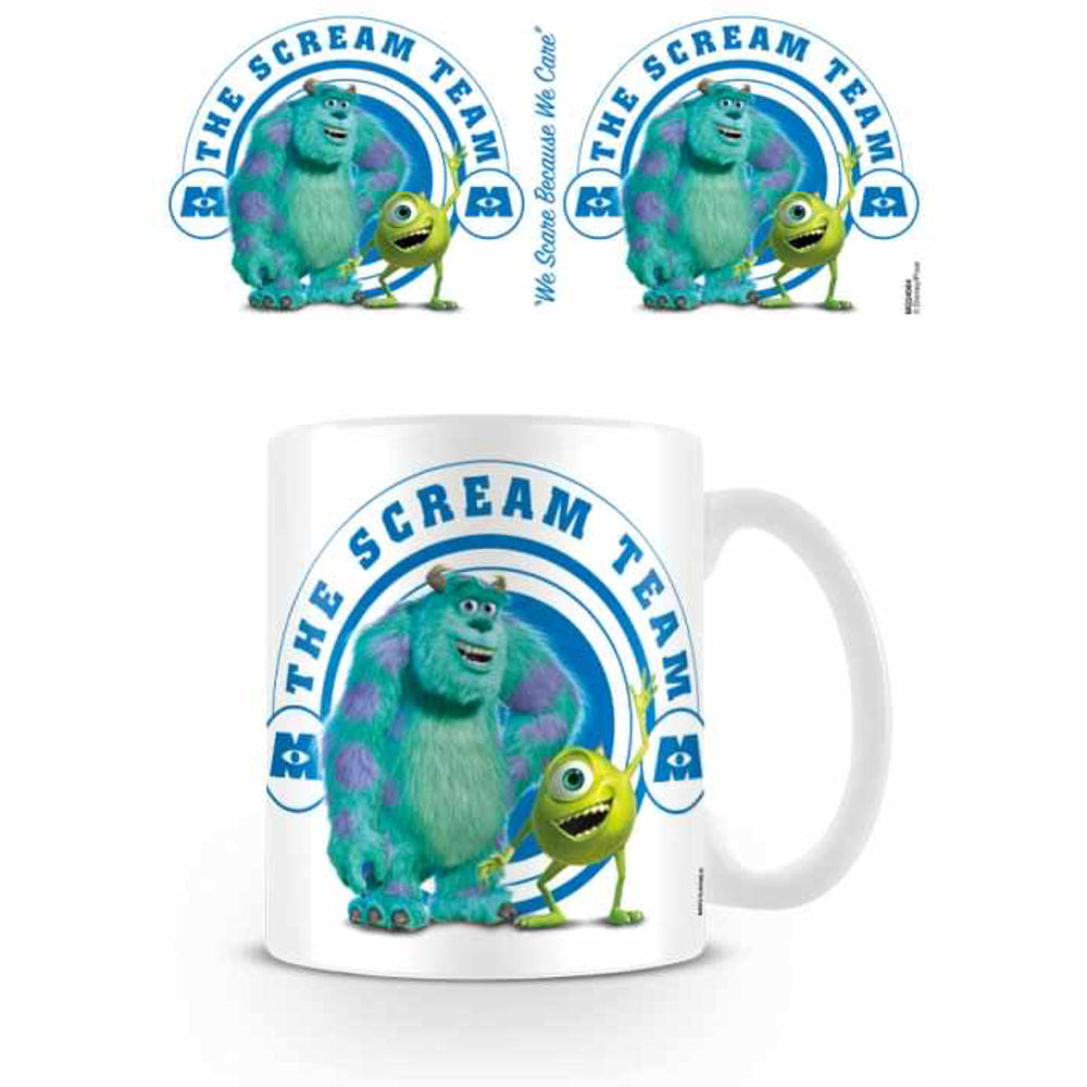 Uncategorized Disney Monsters Inc disney monsters inc scream team mug ceramic coffee tea cup boxed sully mike boo