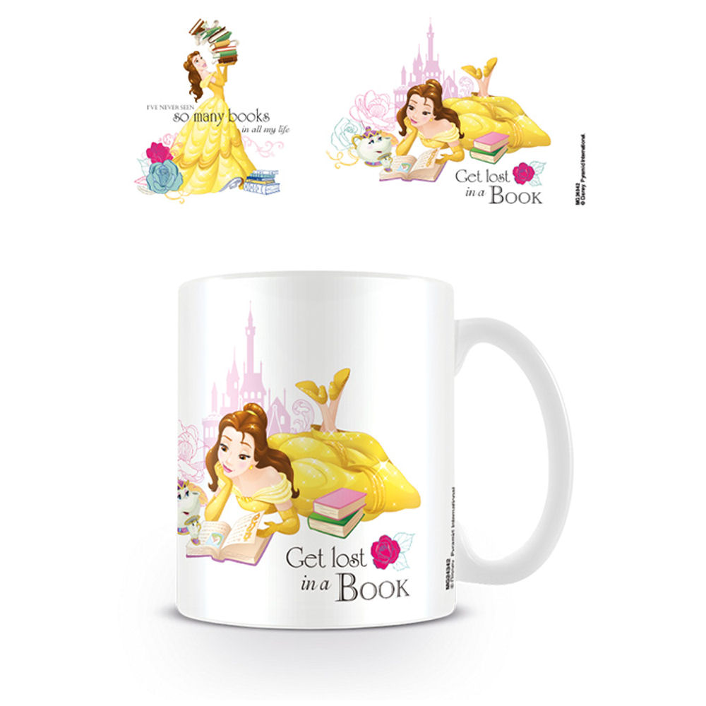 Beauty & The Beast So Many Books Mug
