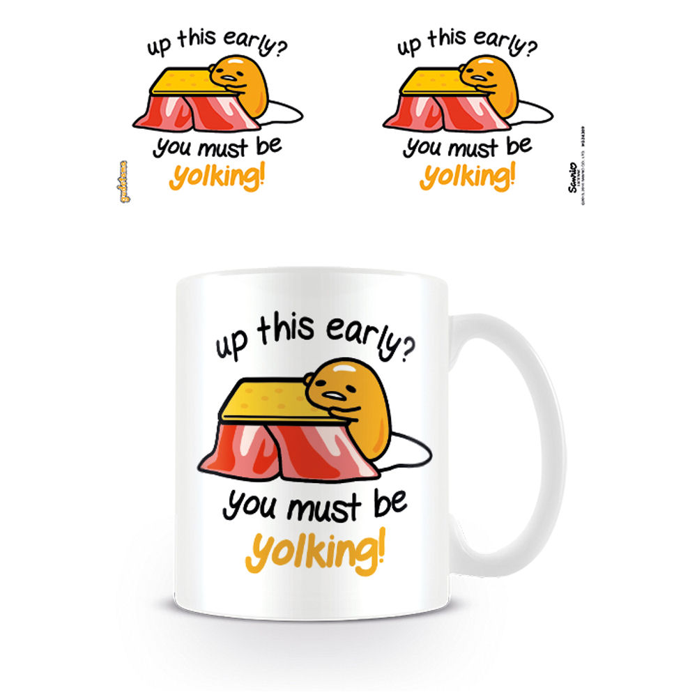 Gudetama You Must Be Yolking Mug