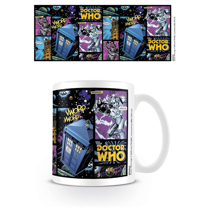 Doctor Who Comic Strip Mug