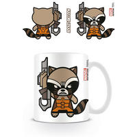 Rocket Racoon Kawaii Mug Thumbnail 1