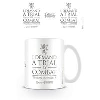 "Game Of Thrones ""I Demand A Trial By Combat - Tyrion Lannister"" Mug Thumbnail 1"