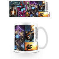 Guardians Of The Galaxy Comic Cover Mug Thumbnail 1