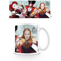 Alice Through The Looking Glass Characters Mug