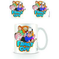 Family Guy Group Shot Mug Thumbnail 1