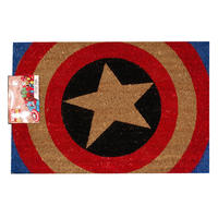 Captain America Shield Door Mat Thumbnail 1