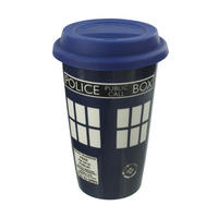 Doctor Who TARDIS Ceramic Travel Mug