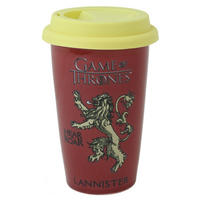 Game of Thrones House Lannister Ceramic Travel Mug Thumbnail 1