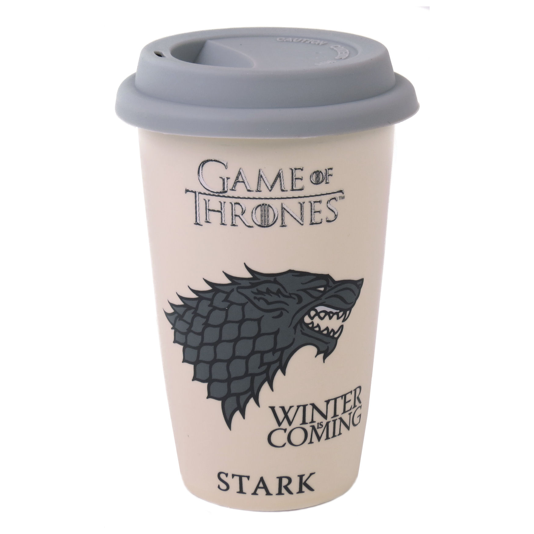 Game of Thrones House Stark Ceramic Travel Mug