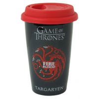 Game of Thrones House Targaryen Ceramic Travel Mug Thumbnail 1