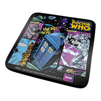 Doctor Who Comic Strip Coaster