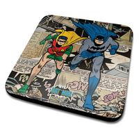 Batman & Robin Comic Montage Coaster Thumbnail 1