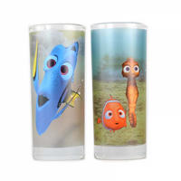 Finding Nemo Just Keep Swimming Set Of 2 Glasses Thumbnail 3