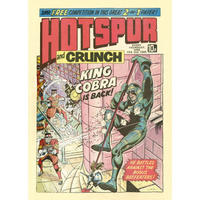 "The Hotspur & Crunch Comic ""King Cobra Is Back"" Fridge Magnet"